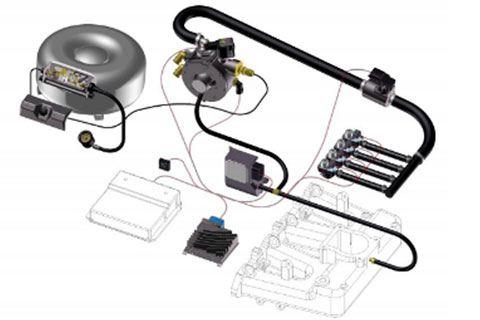 Instalar gas en coche diesel