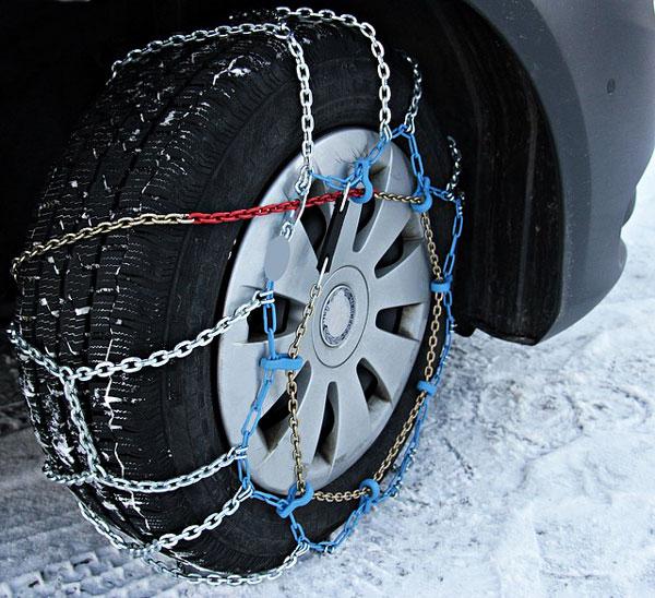 Cadenas de nieve para coches baratas en Madrid