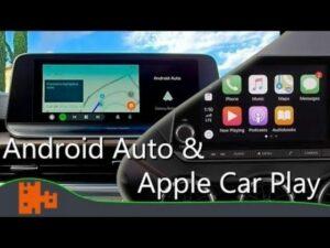 Sistemas de Apple CarPlay o Android Auto